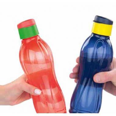 Эко-бутылка с клапаном 750 мл 5 цветов