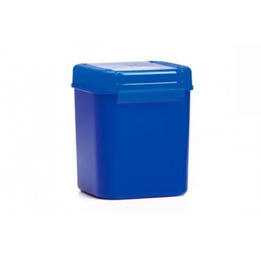 Кристальная емкость голубая, 1,2 литра