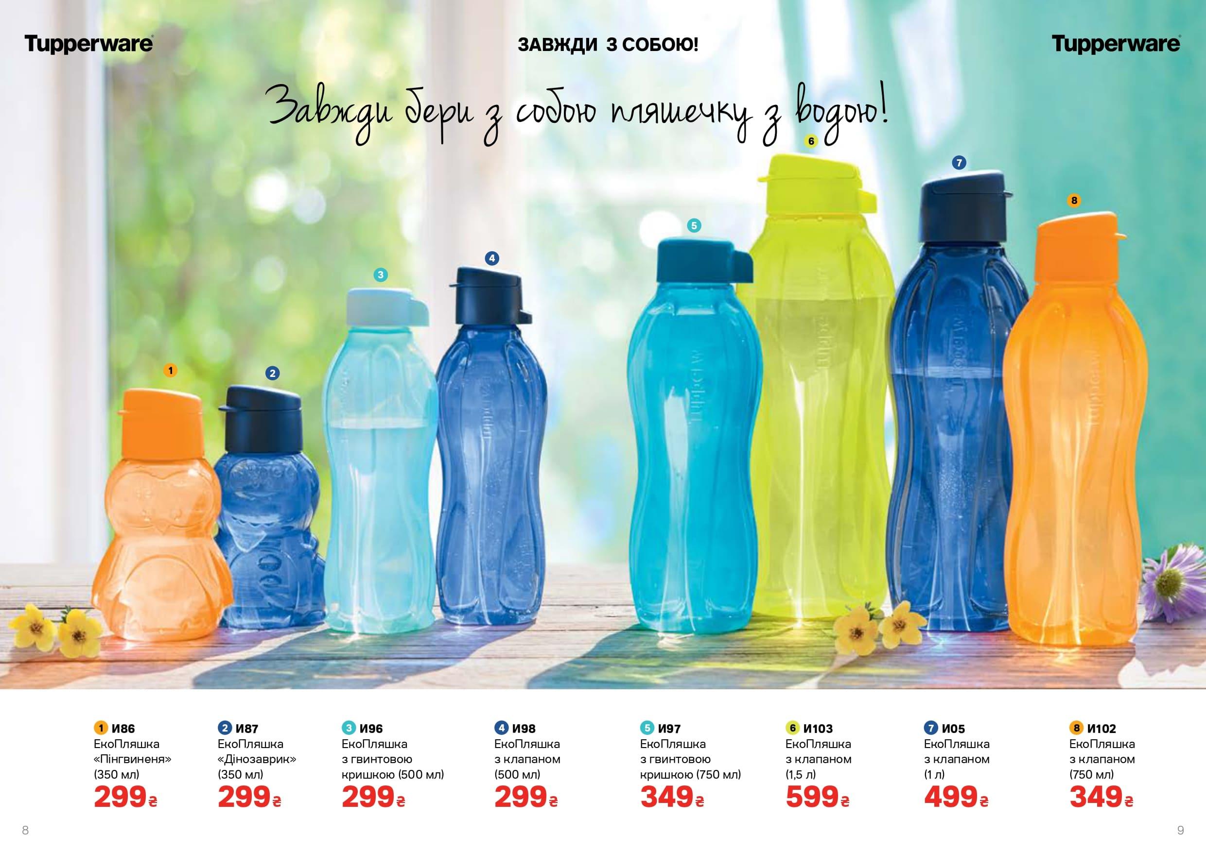 Эко бутылка для воды сохранит свежесть надолго.